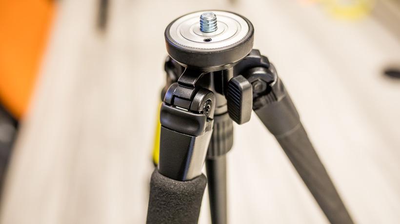 Slik pro 624 carbon fiber tripod leg angle adjustment