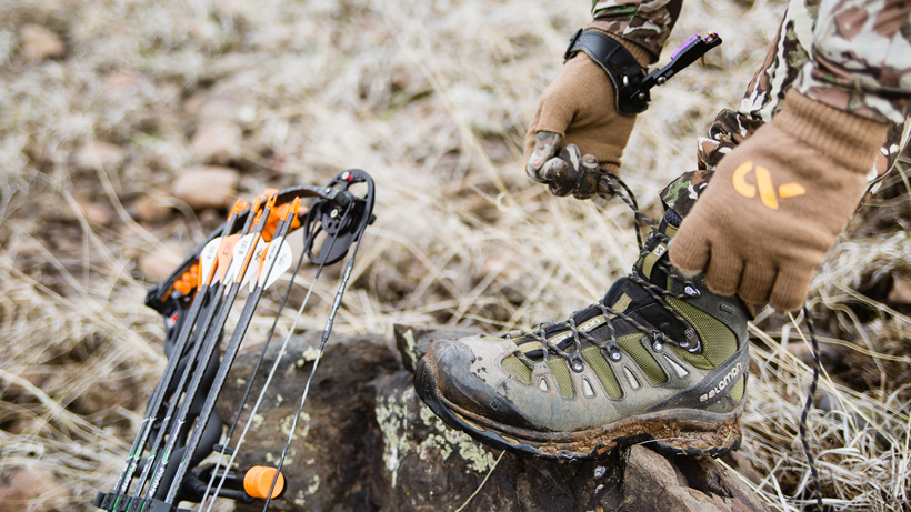 Slowing down when hunting with a bow