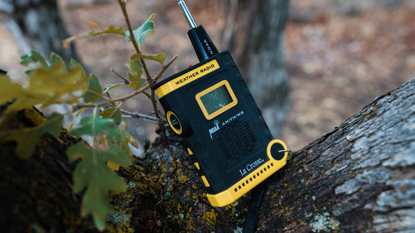Small radio to use when hunting in grizzly bear country