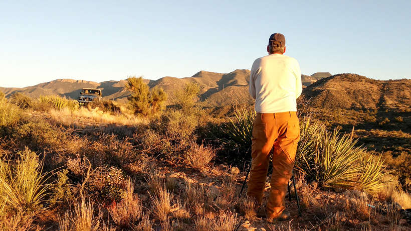 Arizona spot-and-stalk hunting for deer