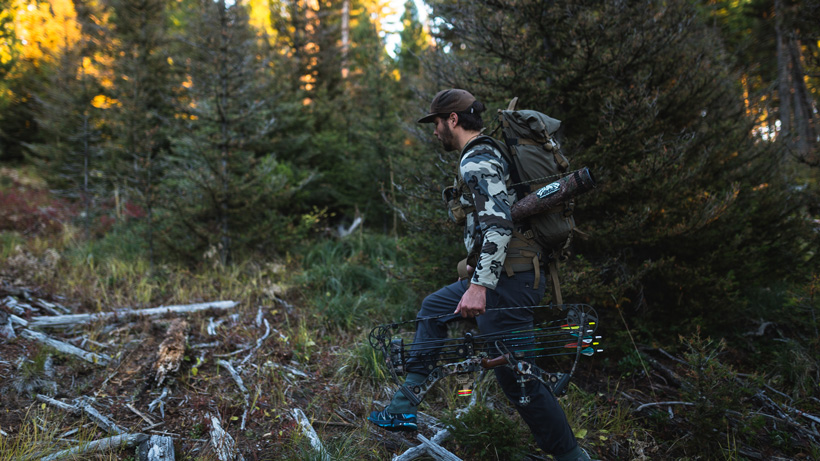 Staying mobile while elk hunting
