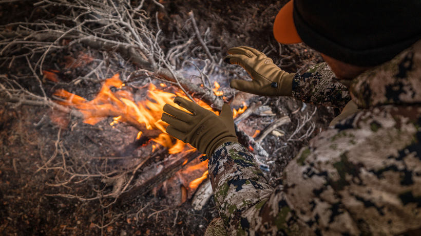 Staying warm during late season elk hunts