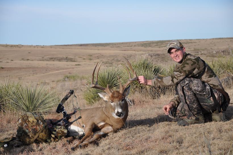 Post rut whitetail buck 2