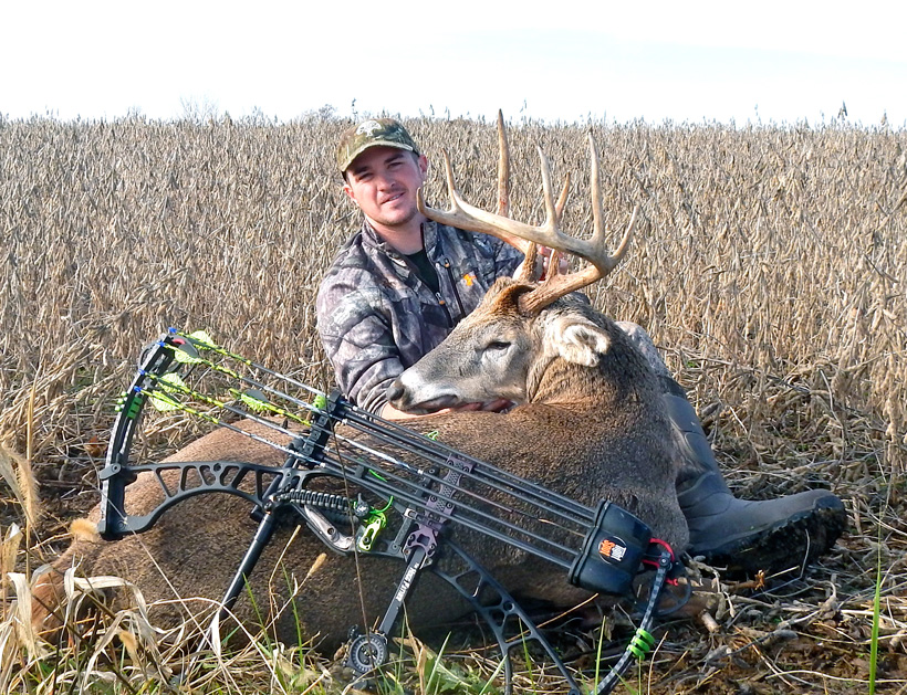 Stephen Spurlock early November bowhunting success
