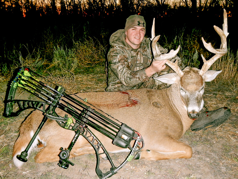 Stephen Spurlock late November bowhunting success
