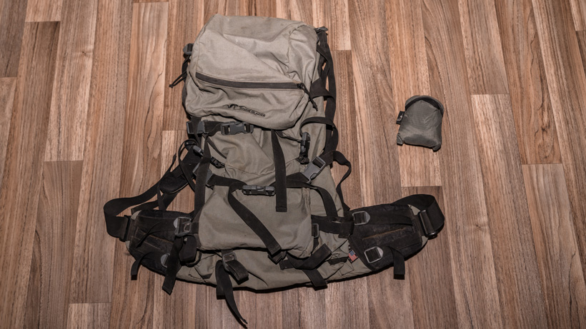 Stone Glacier backpack for backcountry mule deer hunt