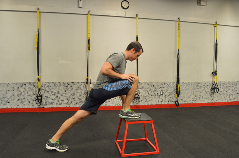 Stretching glutes, hamstrings and hip flexors for hunting