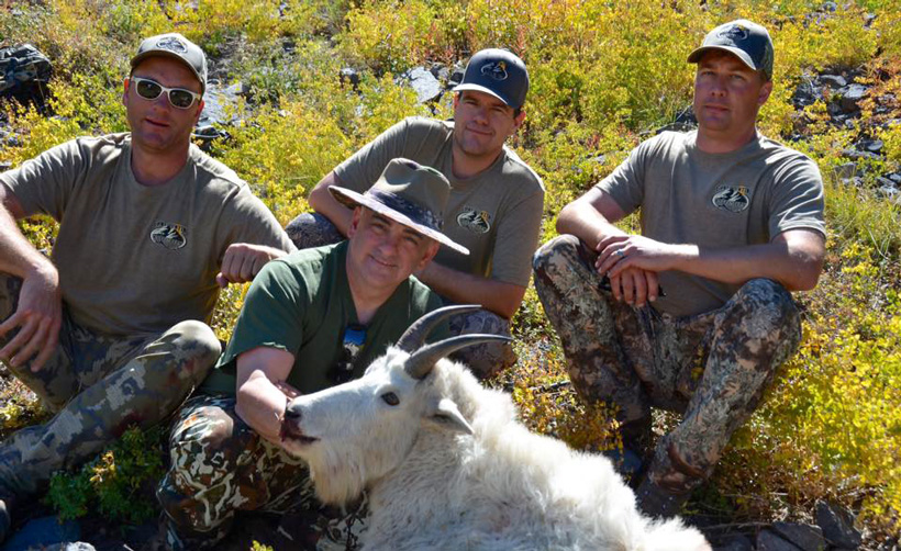 Successful after a great Utah mountain goat hunt