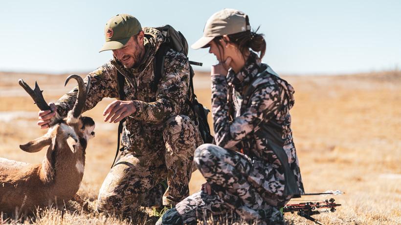 Successful archery antelope hunt