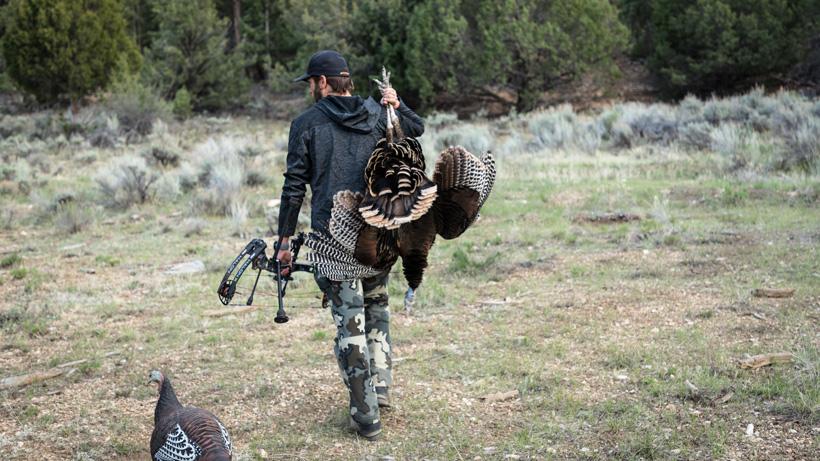Successful western turkey hunt