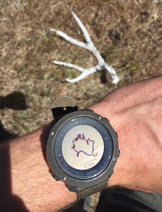 Suunto Traverse Alpha watch GPS tracking