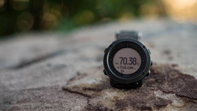 Suunto Traverse Alpha watch point of interest