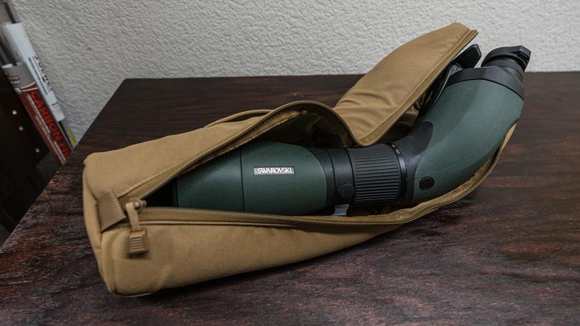 Swarovski BTX in Marsupial Gear padded case