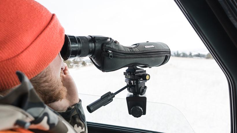 Swarovski spotting scope stay on cover