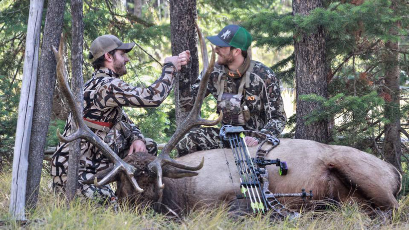 Team effort for Montana archery elk