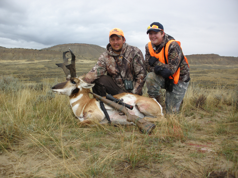 Ted's 2014 Wyoming antelope side view
