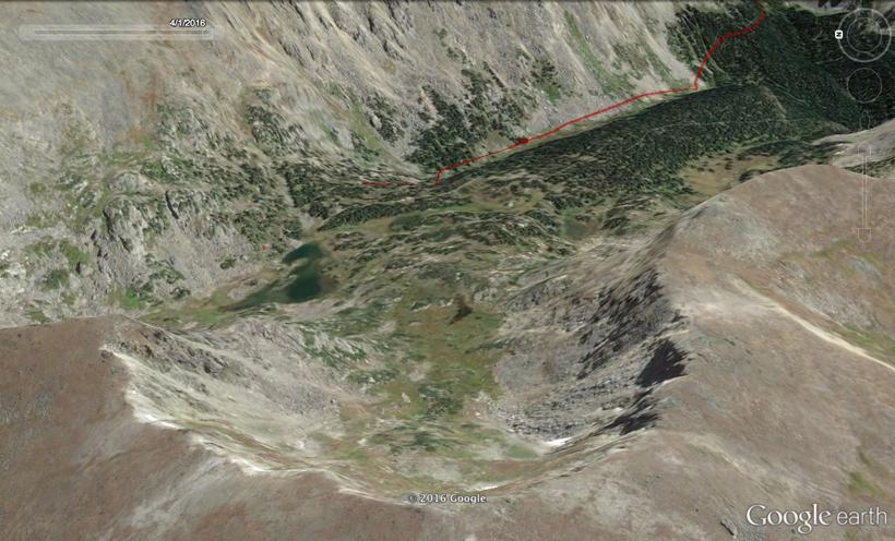 Terrain quality on Google Earth application version