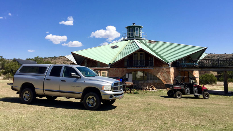 Lodge in West Texas