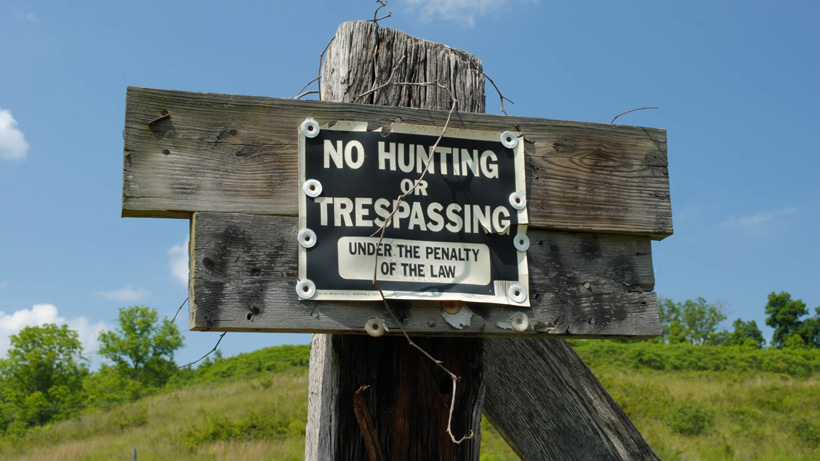 Texas private property poaching