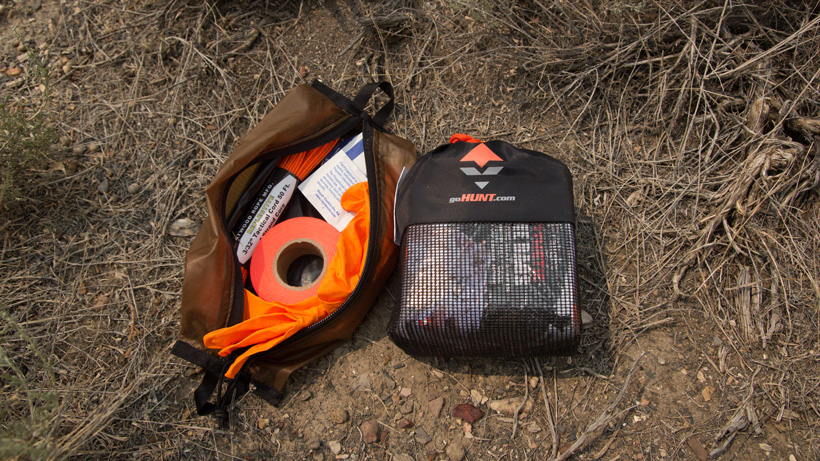 The goHUNT hunting kill kit for processing your animals