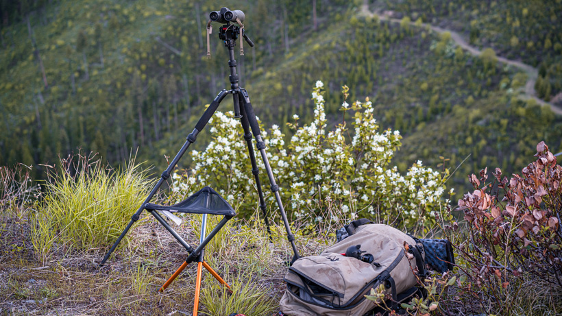 The ideal glassing setup for hunting