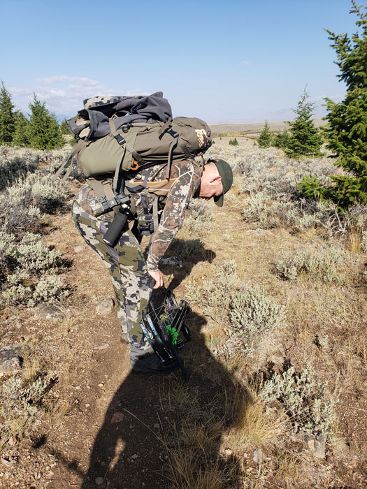 The joys of elevation while elk hunting