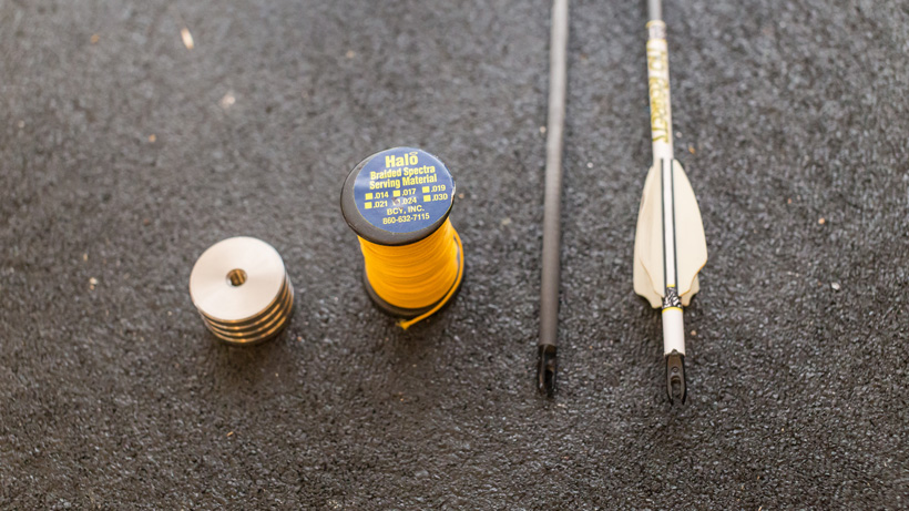 Tools for winter indoor target shooting