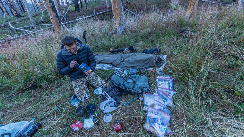 Trail Kreitzer's 2018 Wyoming archery elk hunting gear list