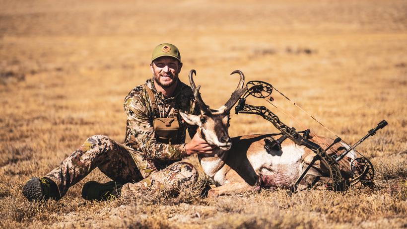 Trail Kreitzer Mathews V3弓和怀俄明州羚羊
