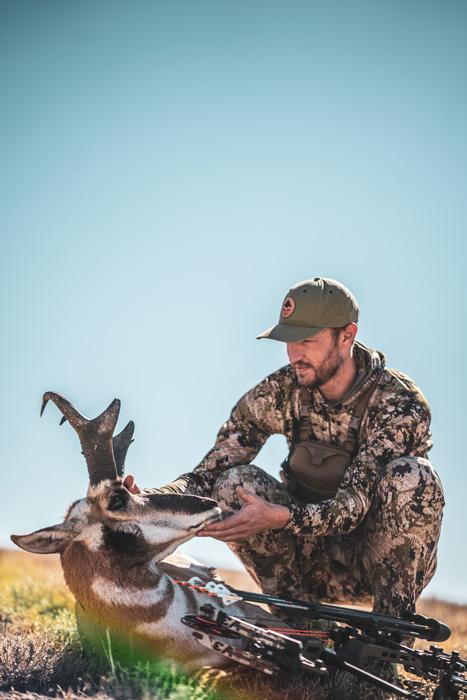 小径克雷策怀俄明州羚羊与马修斯V3弓