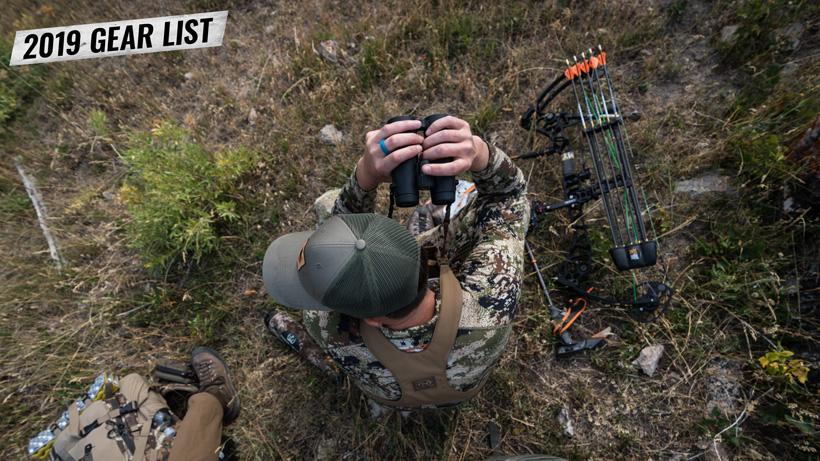 Trail Kreitzer archery elk hunting gear list