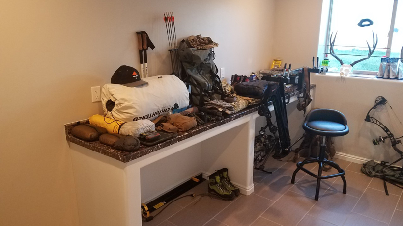 Trail Kreitzer backcountry elk hunting backpack gear list
