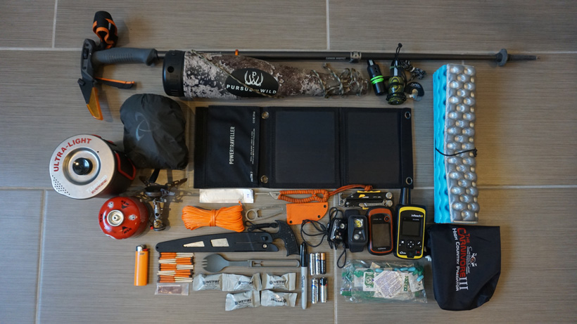 Trail Kreitzer gear setup for elk hunting