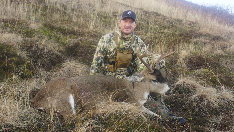 Trail Kreitzer with a Sitka blacktail