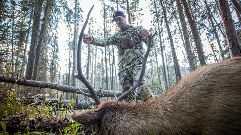 Trail Kreitzer with his 2017 New Mexico archery elk