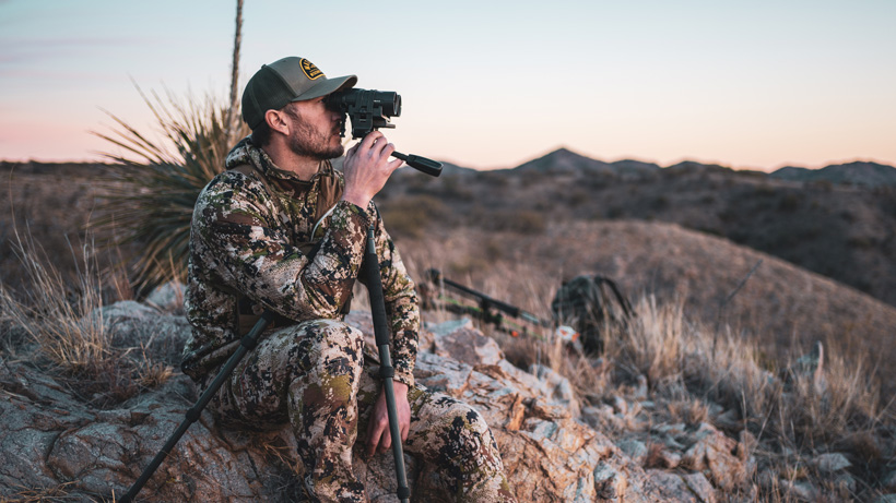 Trail glassing with Leica Noctivid binoculars