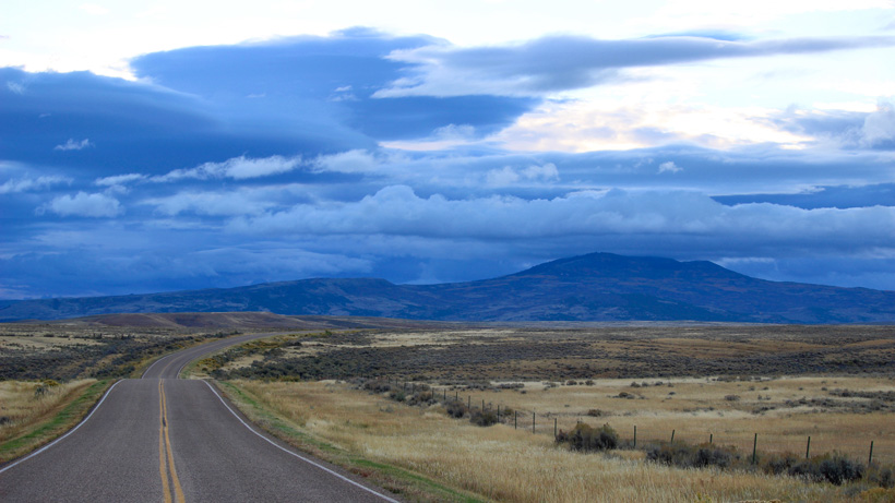 Traveling in Colorado antelope country
