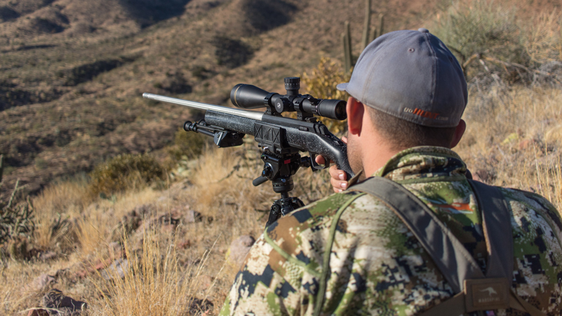 Triclawps rifle saddle hunting coues deer