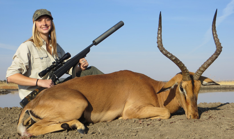 Tyler Cantrell with her impala