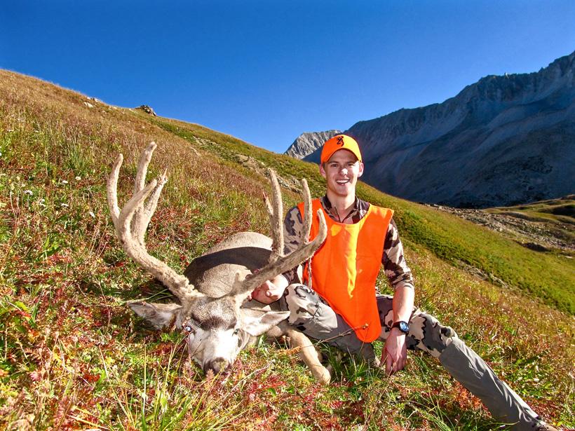 Tyler Preszler 2015 Colorado mule deer front view