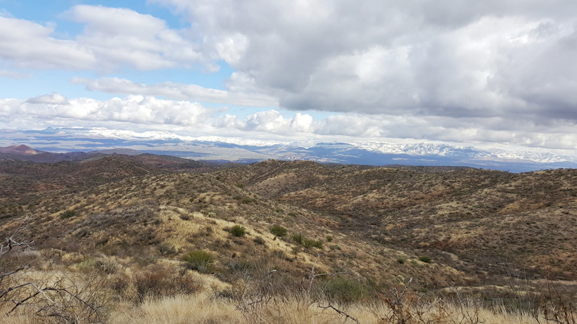 Typical glassing terrain while hunting Arizona