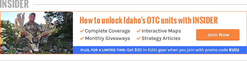 Unlock Idaho's over-the-counter units with INSIDER