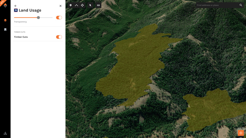 Using timber cuts on goHUNT Maps for elk hunts