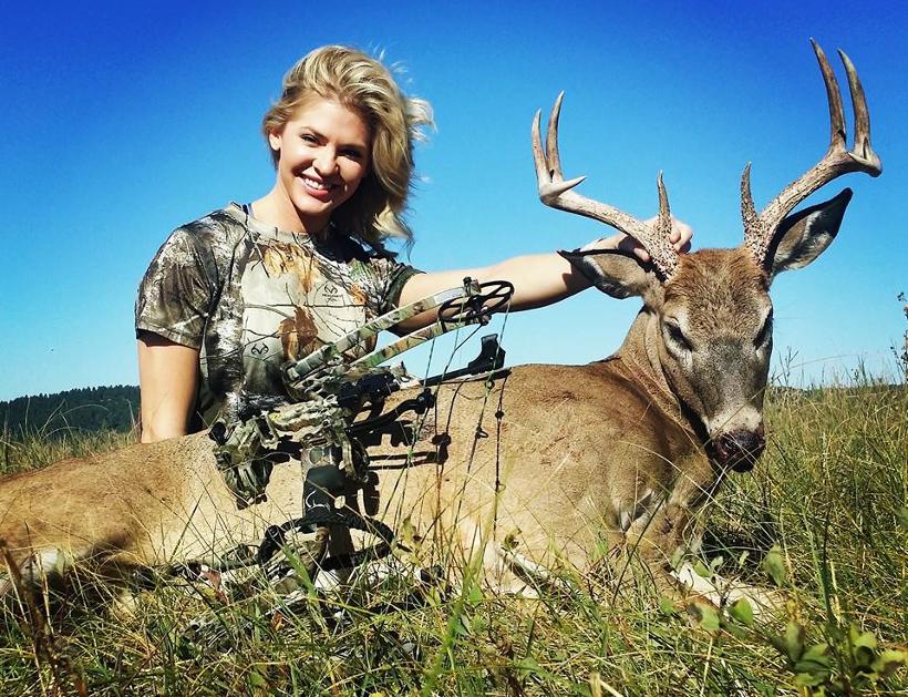 Former Miss Kansas charged with Alaska hunting violations