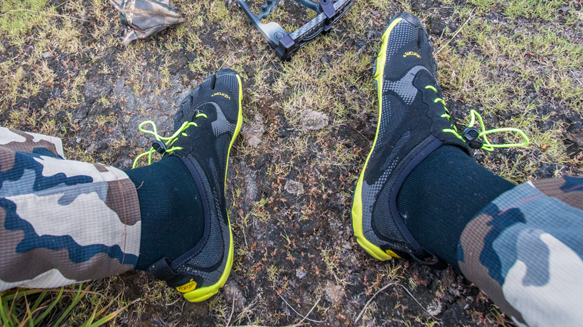 Vibram FiveFingers for bowhunting