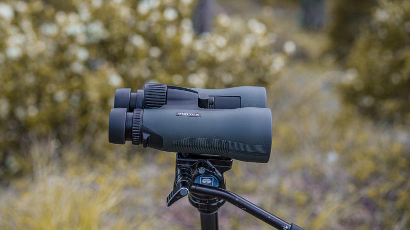 Vortex Diamondback HD 15x56 binoculars side view