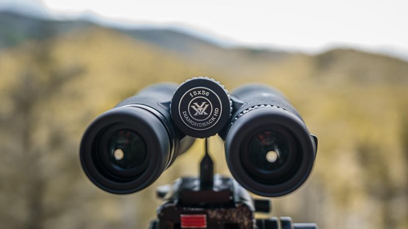 Vortex Diamondback HD 15x56 binoculars up close