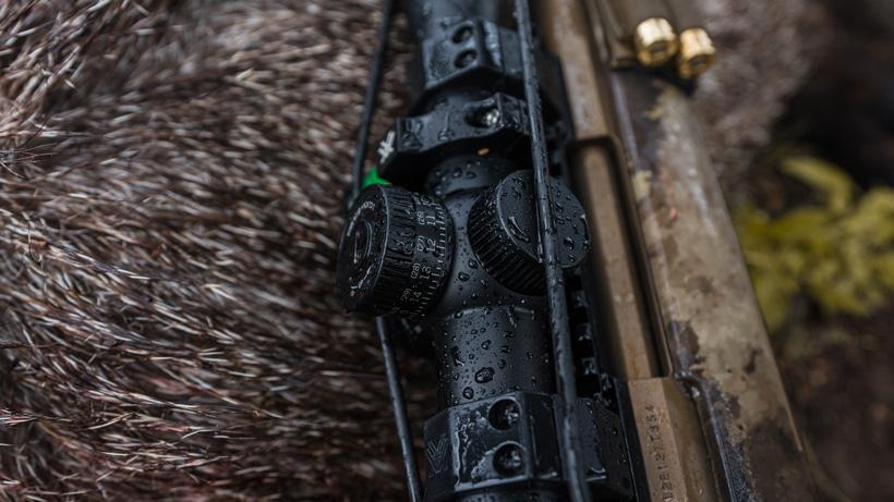 Vortex Razor HD LHT on javelina hunt in rain