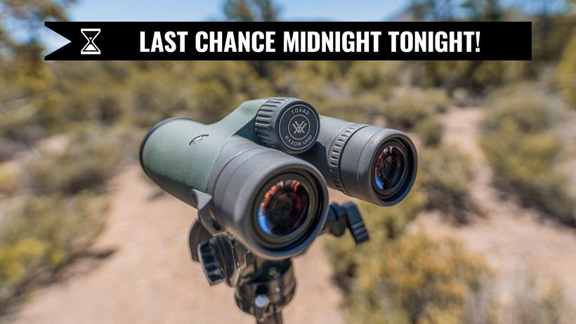 Vortex Razor UHD 10x42 binocular goHUNT giveaway last chance