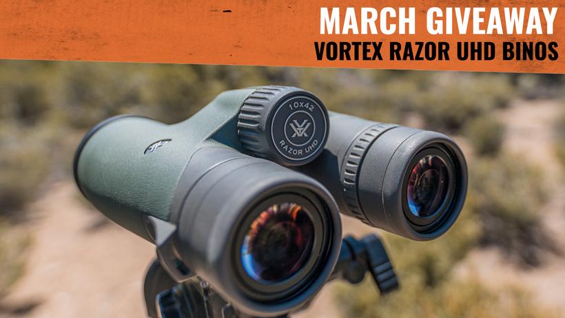 Vortex Razor UHD 10x42 binocular goHUNT giveaway